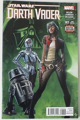 Star Wars - Darth Vader - Issue # 3 - Third Printing - Marvel - 2015 - NM (517)
