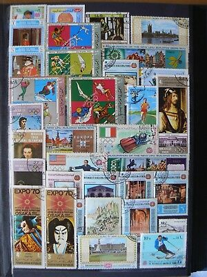 Collection Of Yemen Stamps