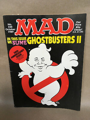Mad Magazine 330 Ghostbusters 2