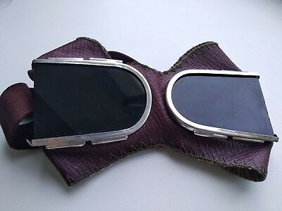steampunk goggles Vintage cyber burning man cosplay glasses rare ussr No box