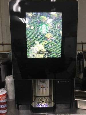 Starbuck Serenade Bunn Immersion Coffee Machine Double Hopper