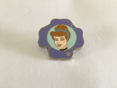Disney Pin WDW 2011 Hidden Mickey Series Princess Flowers Collection Cinderella