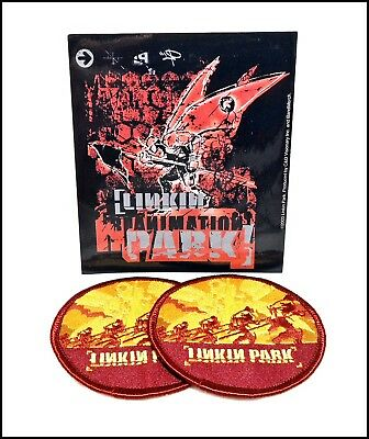 Linkin Park Enbroidered Iron-On Patches & Sticker