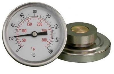 63mm Thermometer - Magnetic Pipe Temperature Indicator Class 2 Acc