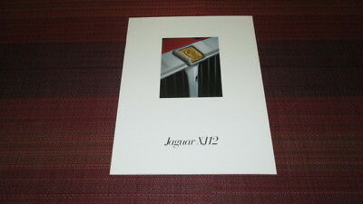 1994 Jaguar Xj12 Sales Brochure.