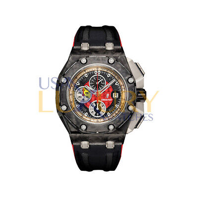 Audemars Piguet Royal Oak Offshore Chrono Grand Prix Black Red