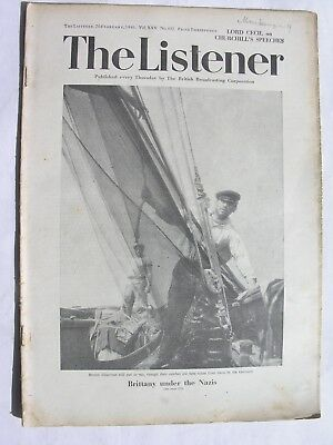 THE LISTENER Feb 20 1941 Home Guard Polly Peabody Merchant Navy Arthur Waley