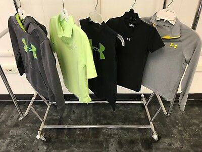 Under Armour Mixed Youth Clothing Lot of 5/ Hoodie, T-Shirts, Pullover / Sz YSM