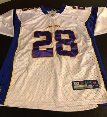 Adrian Peterson Size 48 Minnesota Vikings Stitched Jersey NFL Reebok  Authentic d06632e41