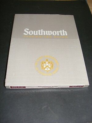 Southworth Typewriter Paper 413 CF 20 Lb HW Racerase 8 1/2 x 11 NEW Sealed