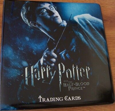 Harry Potter Half-Blood Prince HBP ArtBox trading card padded album binder SDCC