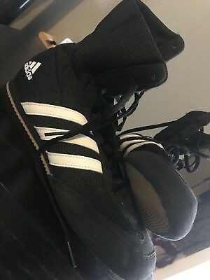 Womens Black Adidas Boxing Boots Size 6