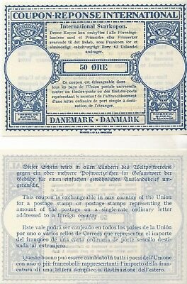 Denmark - International Reply Coupon - London Model - Issued in May 1940 - Mint