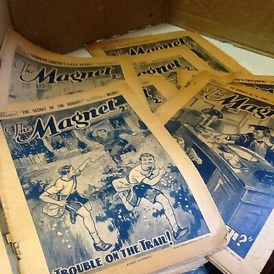 The Magnet Comic, 1940's (war time editions). 10 comics..