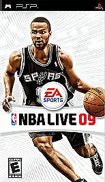 NBA Live 09 (Sony PSP, 2008) Only Umd