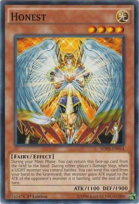 HONEST - (SDHS-EN014) - Common - 1st Edition - Yu-Gi-Oh Hero Strike