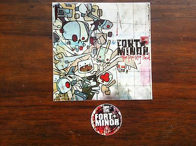 Fort Minor Linkin Park Mike Shinoda promo sticker for the Rising Tied cd # 2