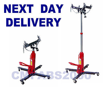 1/2 Tonne 500 kg 2 Stage Hydraulic Transmission Jack Gearbox Jack Lift + Adaptor