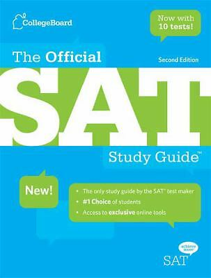 The Official SAT Study Guide by College Board (2nd Edition)