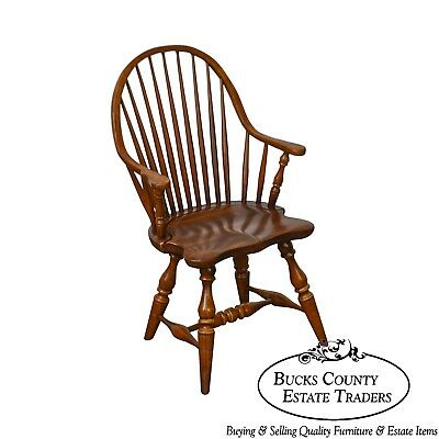 Frederick Duckloe & Bros Windsor Style Childs Diminutive Size Arm Chair (B)