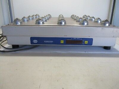 "USED - Fairbanks 21789 20""x20"" Ball Top UPS Bench Scale 250 lb x 0.05 lb 70-2455"