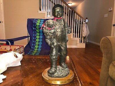 """RARE Ducks Unlimited """"Young Pups"""" - Jeff Littlejohn Sculpture- 1 out of 5000!"""
