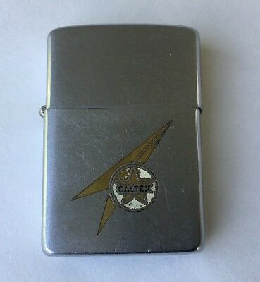 Zippo CALTEX LIghter Rare Find Vintage Collectible