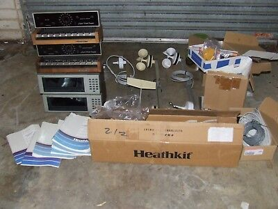 Heathkit Vintage Weather Computer Station  Qty 4 Id-4001 Id-5001 Parts Manuals