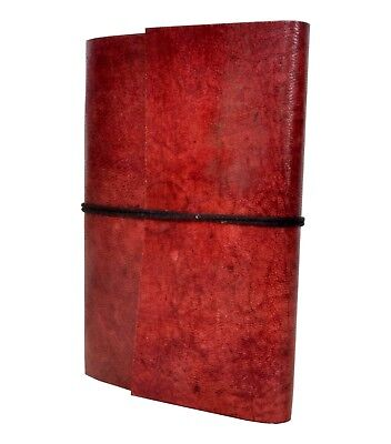 Vintage Handmade New Genuine Goat Leather Journal Antique Design Diary 3x4