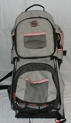 81afe679162 Evenflo Snugli Cross Country Baby Carrier Hiking Backpack Sun Shade Canopy  Cover