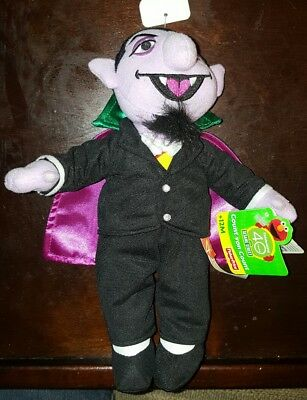 Sesame Street Count Plush Count Von Count Toy 10 Inch Fisher