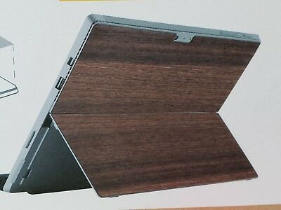 Dark Wood Skin for Microsoft Surface Pro 4 Real Japanese Quince wood FreeShip