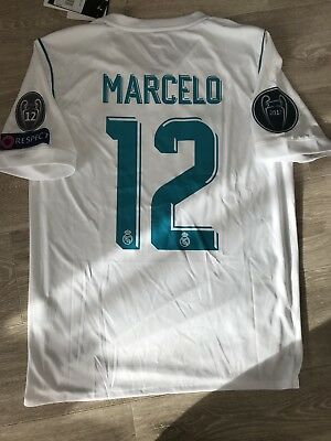 Maillot Real Madrid Marcelo 12 Taille S