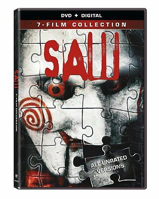 Saw: The Complete Movie Collection [7 Unrated Films, 4-Disc] DVD + Digital HD