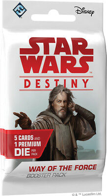 Star Wars Destiny - Way of the Force Booster Pack Factory Sealed 1ct WoF WotF