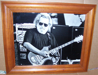 Jerry Garcia on Stage 8 X 10 Framed Photo Print Picture 90's Grateful Dead