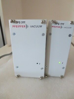 Pfeiffer Vacuum TPS 111 andTPS 311, Turbo Pump Power Supply Controllers