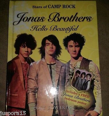 Jonas Brothers by Posy Edwards 2008 Hardcover