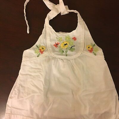 Janie and Jack Toddler Girls Halter Top-EUC-4T