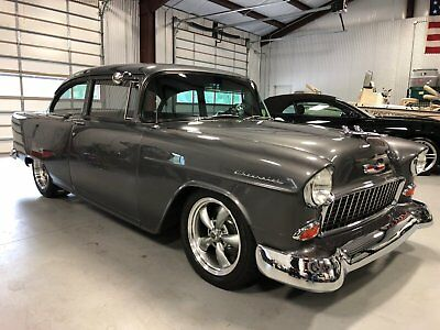1955 Chevrolet Bel Air/150/210 2 Door Post 1955 Chevy Custom Built Big Block HOT ROD 4 speed Air