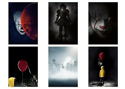 Stephen King   IT  2017 PENNYWISE the Dancing Clown A5 A4 A3 Textless Poster