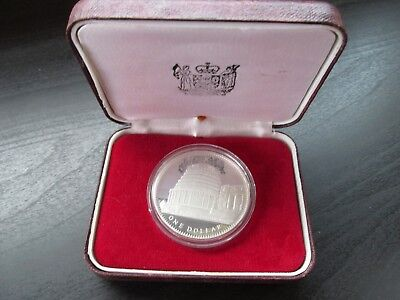 1978 New Zealand $1 Silver Proof Coin