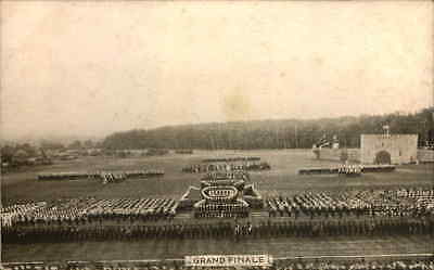 Antique Military Army  Postcard Grand Final Aldershot Tattoo Series