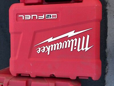 """Milwaukee Tool Case M12 Fuel 1/4"""" Hex 2-Speed Screwdriver 2402-22 CASE ONLY"""