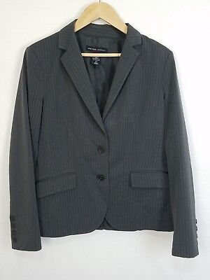 3742d1d15 NEW YORK & Company Women's 3 Button Down Suit Jacket Size 4 Dark ...
