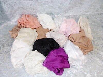 Lot of 15 Nylon Panties    assorted makers and colors     all size 10