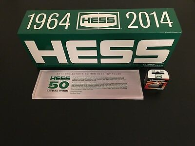 Hess Truck 50th Anniversary 1964-2014 Collector's Edition NEW