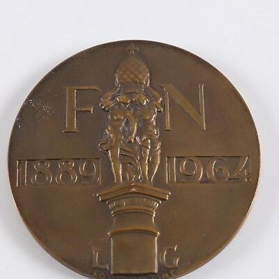 French Medal, Fabrique Nationale 1889-1964