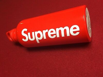 Supreme X SIGG Traveller 0.6L Water Bottle Red SS18 IN HAND