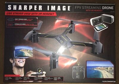 Sharper Image Dx 4 Hd Video Fpv Streaming Drone 3500 Picclick
